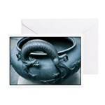 Dragon Brazier Greeting Cards (Pk of 20)