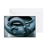 Dragon Brazier Greeting Card