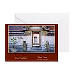 Wat Pho Gateways Greeting Cards (Pk of 10)