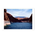Powell: Red & Blue Postcards (Package of 8)