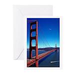 Golden Gate Bridge Greeting Cards (Pk of 20)
