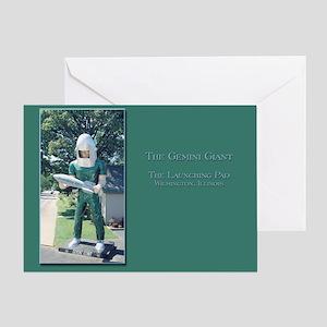 The Gemini Giant Greeting Card