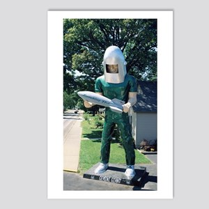 The Gemini Giant Postcards (Package of 8)