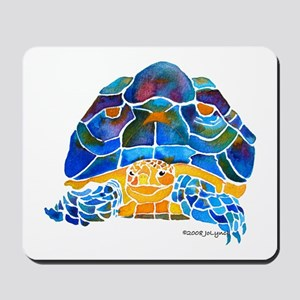 African Spur Tortoise Mousepad