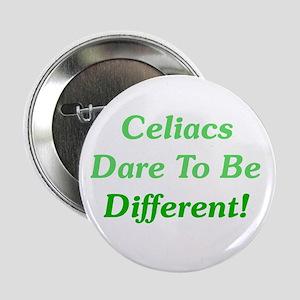 """Celiacs Dare To Differ 2.25"""" Button"""