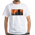 White T-Shirt with city logo
