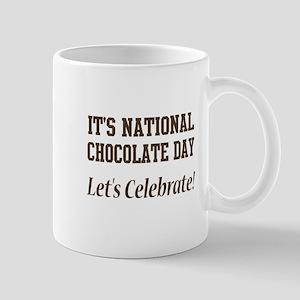 National Chocolate Day design Mug