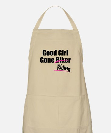 Good Girl Gone Riding BBQ Apron