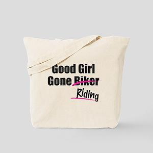 Good Girl Gone Riding Tote Bag