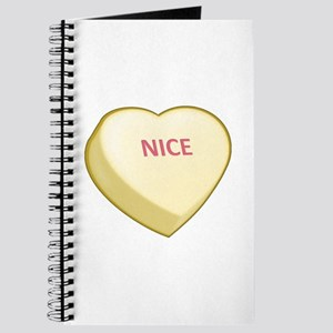 Nice Candy Heart Journal