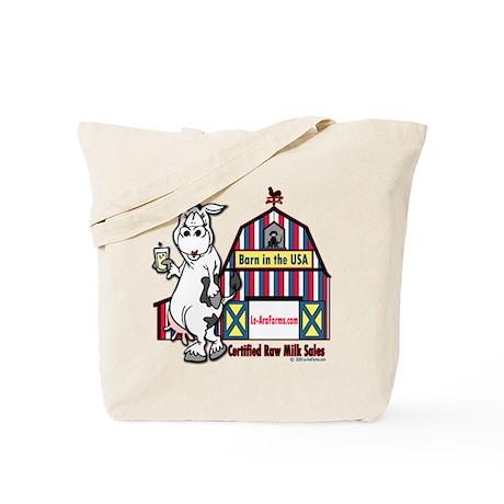 Certified Raw Milk Tote Bag
