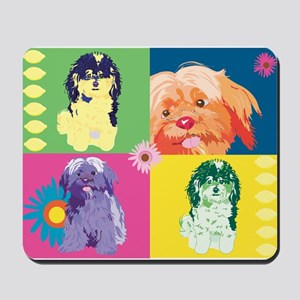 DOG ART 1 Mousepad