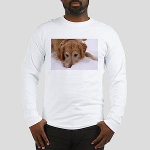 Winter Golden Retriever Long Sleeve T-Shirt
