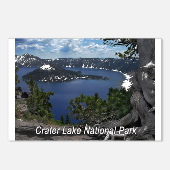 Cute Crater lake Postcards (Package of 8)