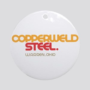 Copperweld Steel Ornament (Round)