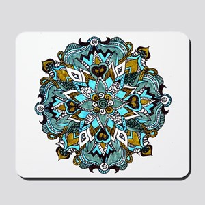 TURQUOISE FIRE Mousepad