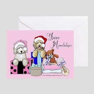 TBG Pink Christmas Greeting Card