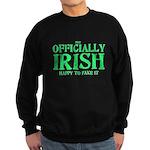 Officially Irish Sweatshirt (dark)
