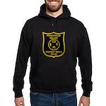 Porchville Police Hoodie (dark)