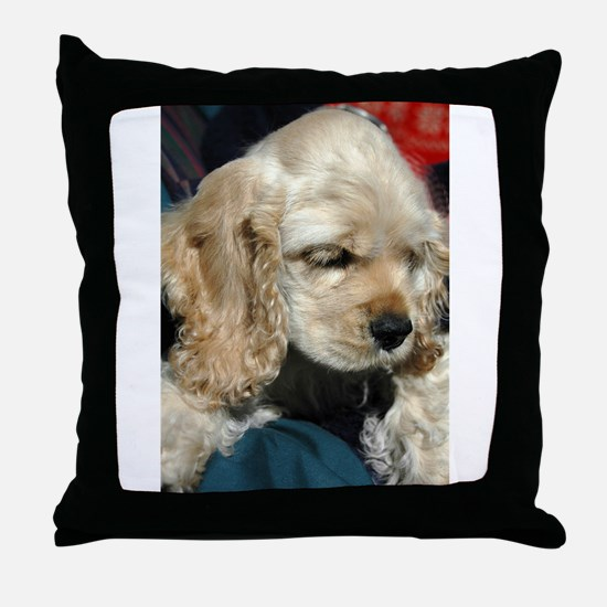 Cocker Throw Pillow