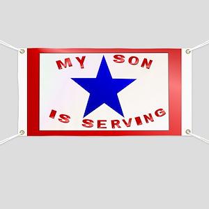 BLUE STAR_Son Serving Banner