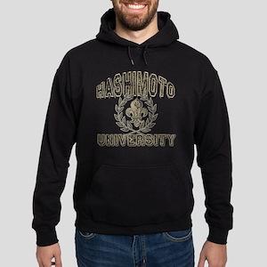 Hashimoto Last Name University Hoodie (dark)