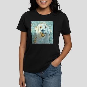 Golden Retriever Van Gogh Style T-Shirt