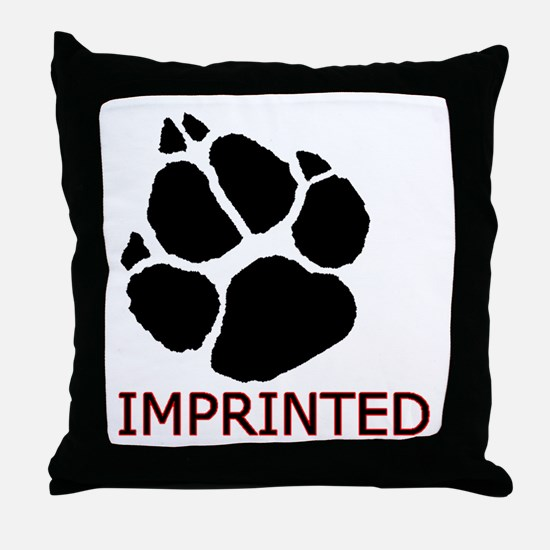 Imprinted Throw Pillow