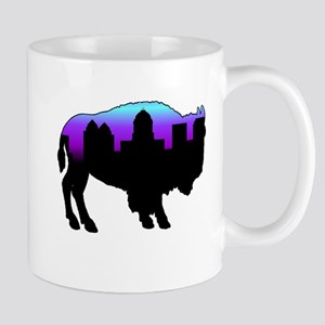 Purple Skyline Mug