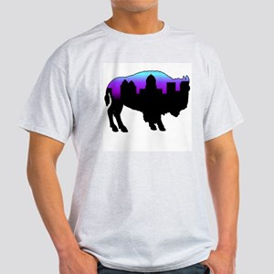 Purple Skyline Light T-Shirt