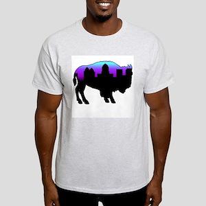 Purple Skyline Light T-Shirt