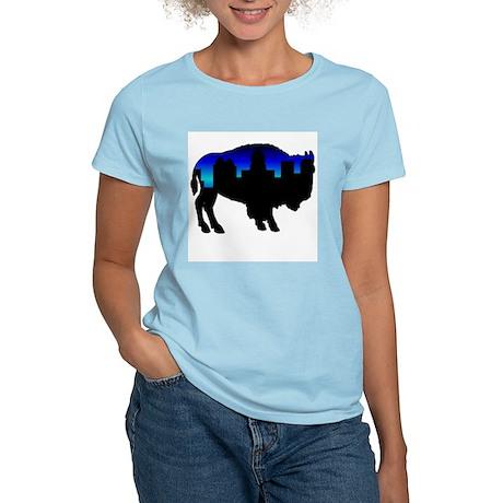Deep Blue Skyline Women's Light T-Shirt