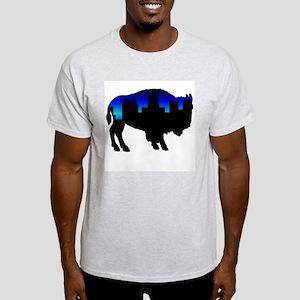 Deep Blue Skyline Light T-Shirt