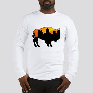 Sunny Day Skyline Long Sleeve T-Shirt