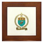 MENEUX Family Crest Framed Tile