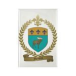 MENEUX Family Crest Rectangle Magnet (100 pack)