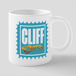 CLIFF CHEERS Mugs