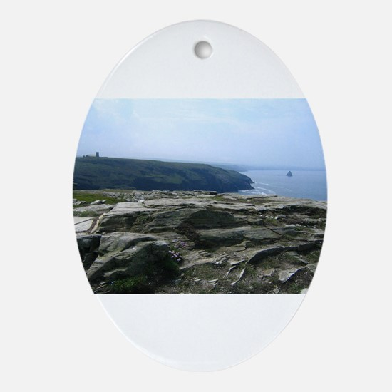 Tintagel Oval Ornament