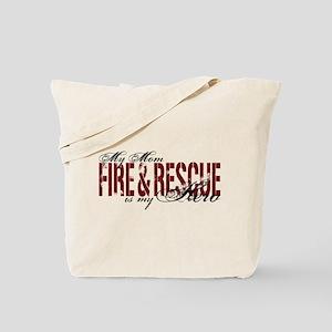 Mom My Hero - Fire & Resue Tote Bag