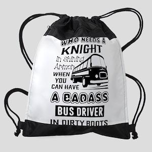 Bus Driver Drawstring Bag