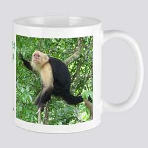 Costa Rica Monkeys Mug