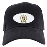 MELLANSON Family Crest Black Cap