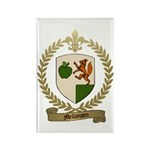 MELLANSON Family Crest Rectangle Magnet