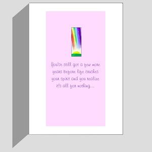 """Cynical """"discouragement"""" card!"""