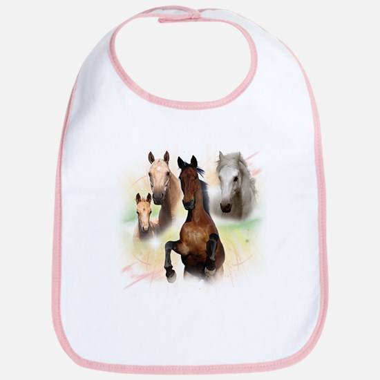 Celestial Horses Bib