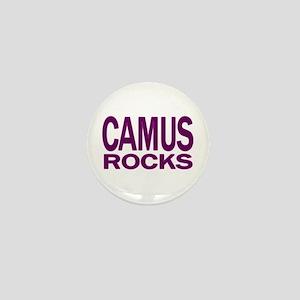 Camus Rocks Mini Button