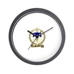 MAZEROLLE Family Crest Wall Clock