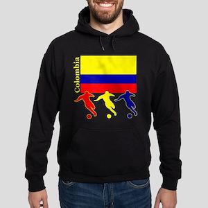 Colombia Soccer Hoodie (dark)