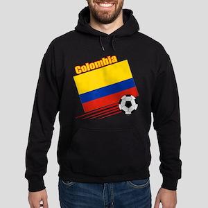 Colombia Soccer Team Hoodie (dark)