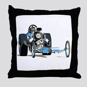 Vintage Top Fuel 1 Throw Pillow